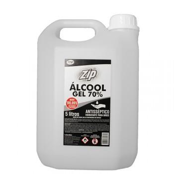 ZIP CLEAN ÁLCOOL GEL 70% - 5 litros